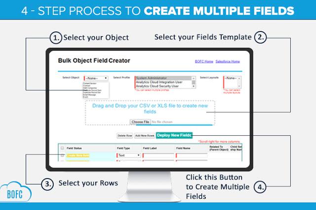 Mass Create Multiple Fields