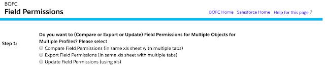 Update Field Permissions