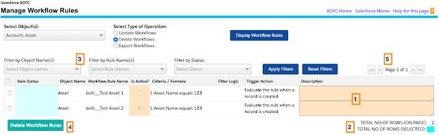 Delete Multiple Workflow Rules