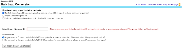 Use Salesforce Report