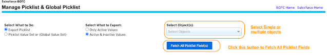 Select single or multiple objects